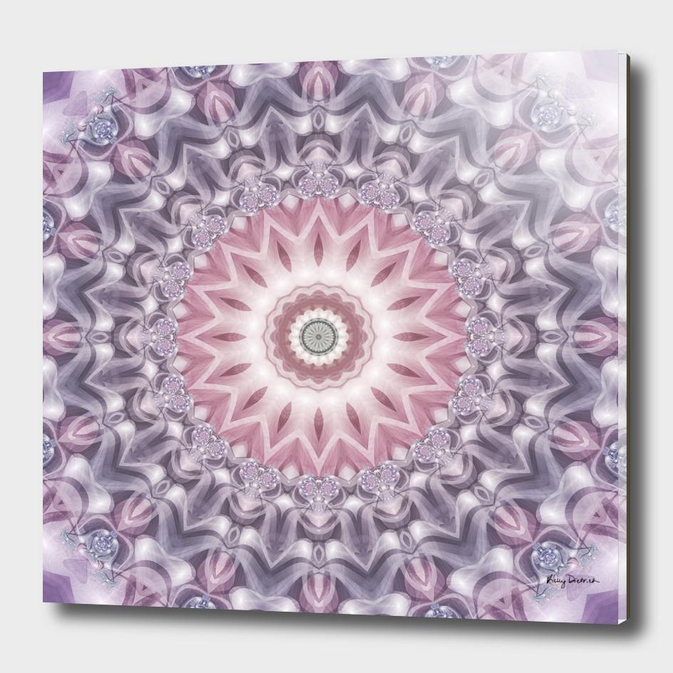 Ombre Purple Mandala