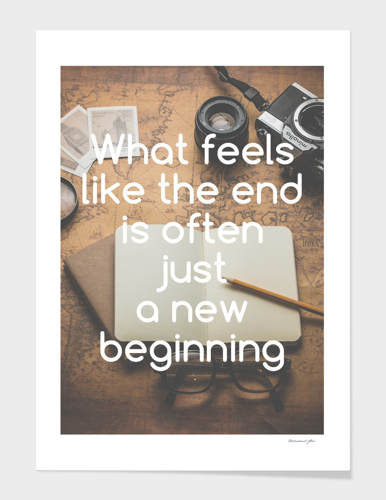 Motivational - New Beginning