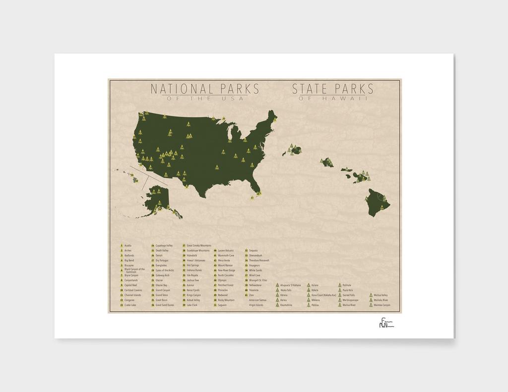 US National Parks - Hawaii
