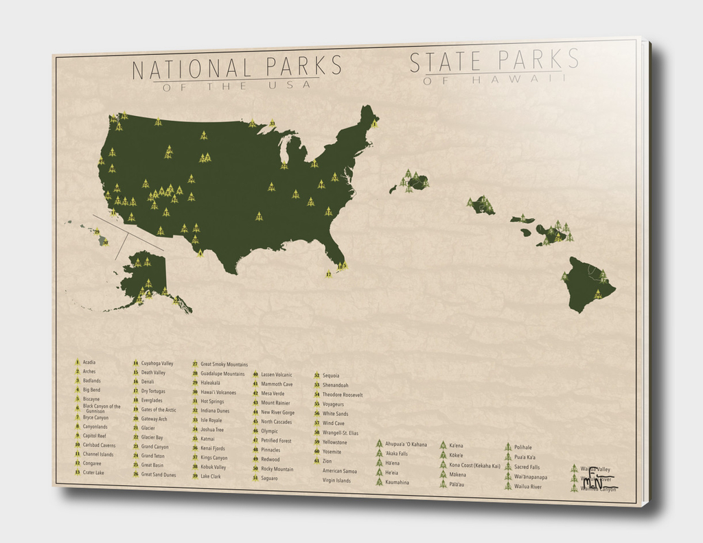 US National Parks - Hawaii