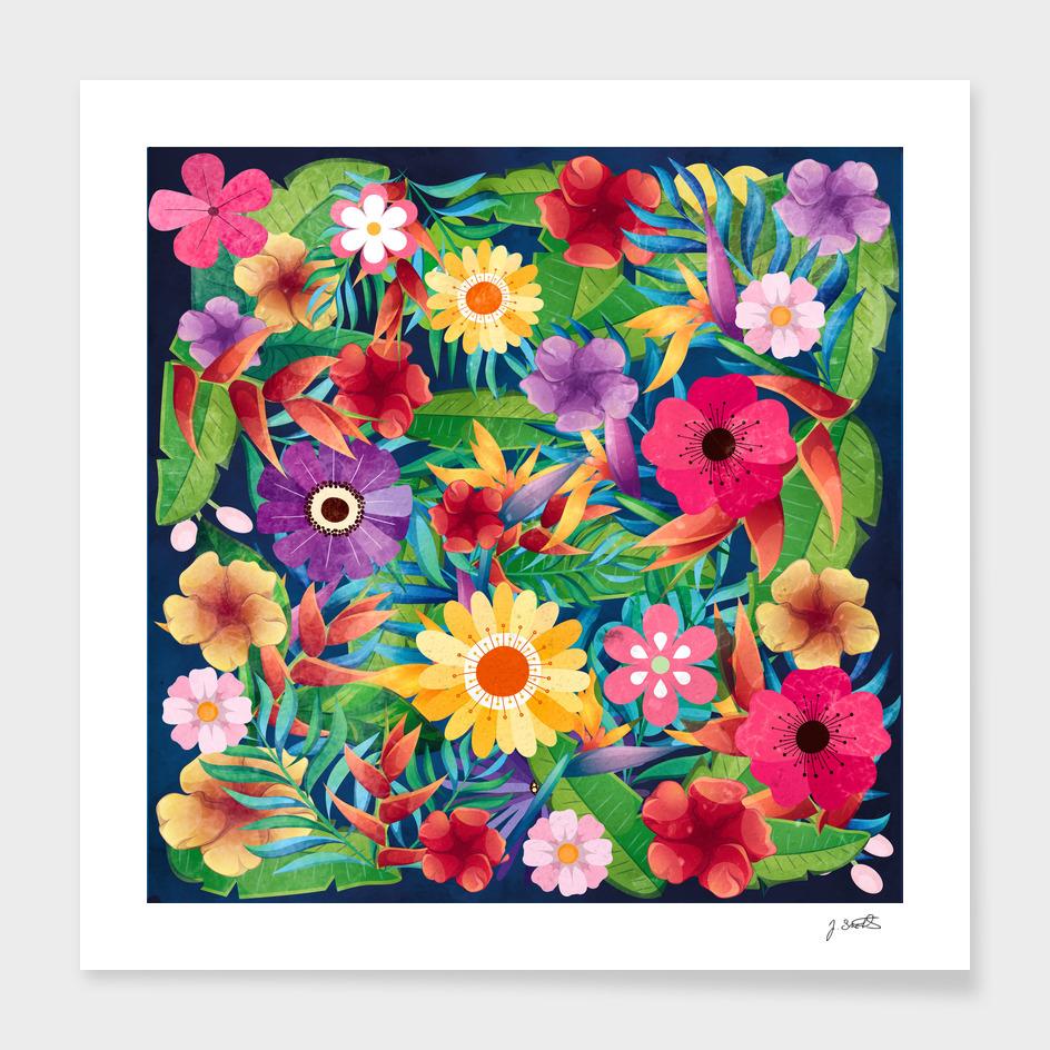 Summer Floral Dreams