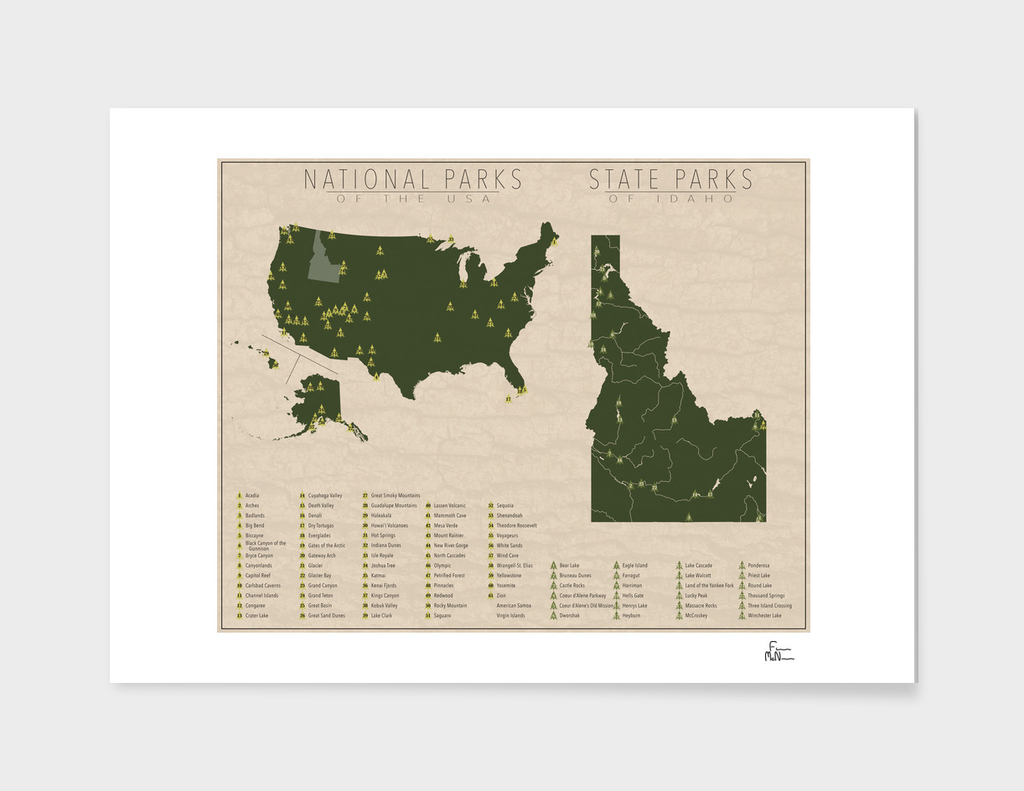 US National Parks - Idaho