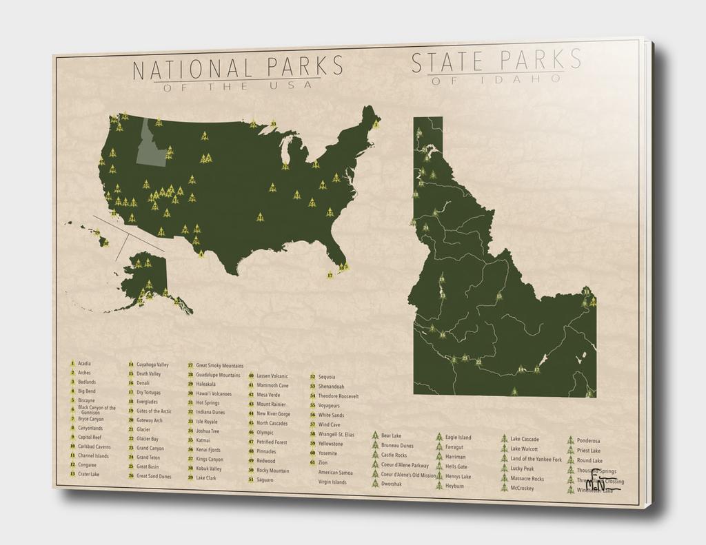US National Parks - Idaho
