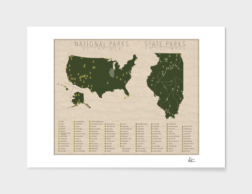 US National Parks - Illinois