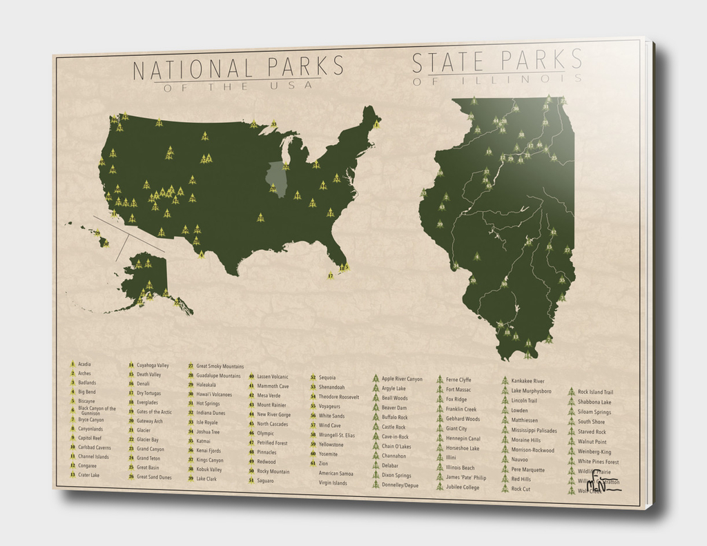 US National Parks - Illinois