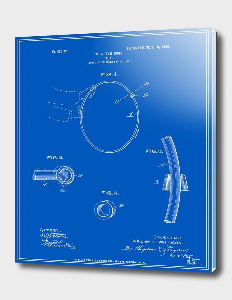 Hula Hoop Patent - Blueprint