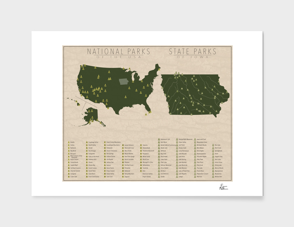 US National Parks - Iowa