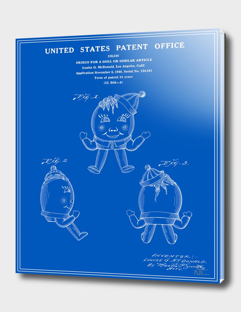 Humpty Dumpty Patent - Blueprint