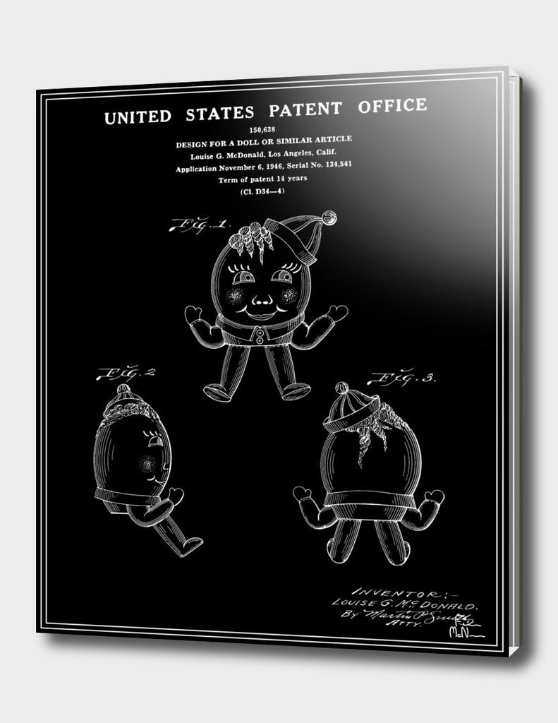 Humpty Dumpty Patent - Black