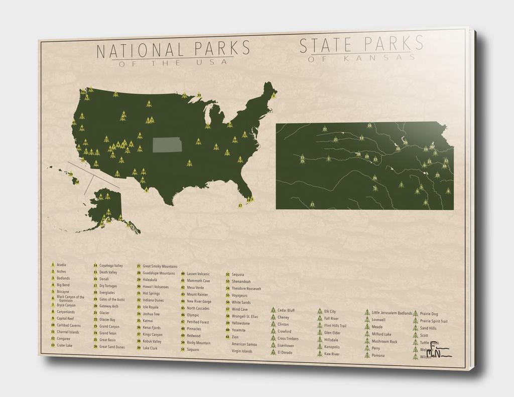 US National Parks - Kansas