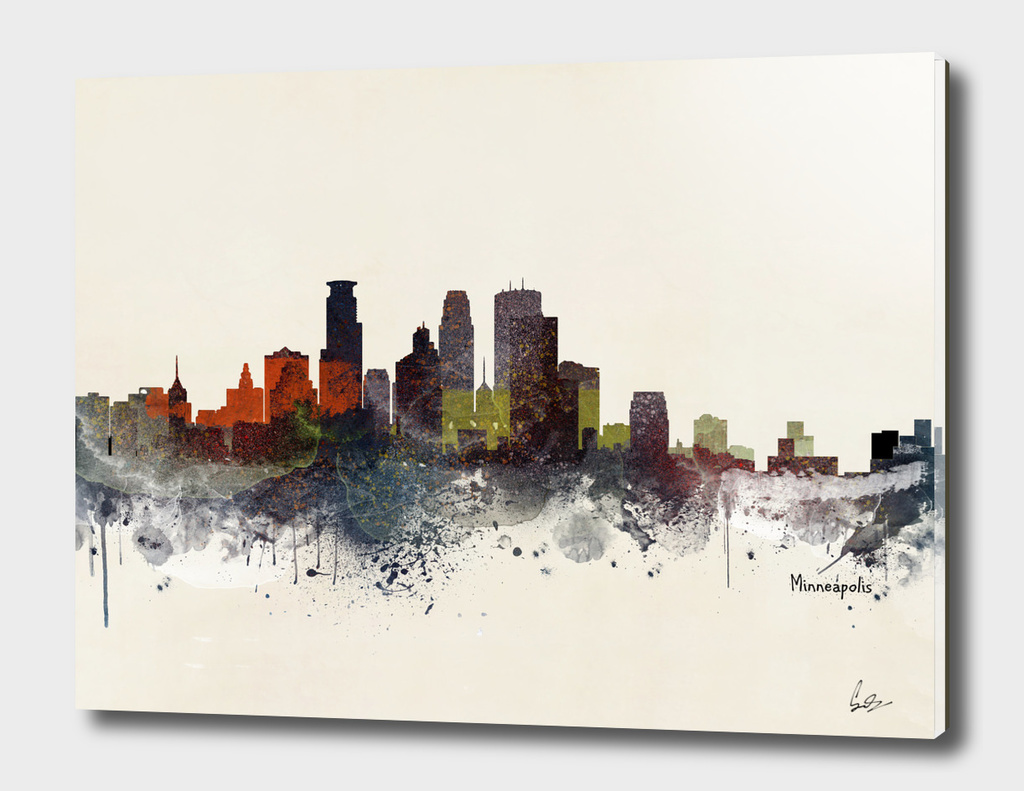 minneapolis minnesota skyline