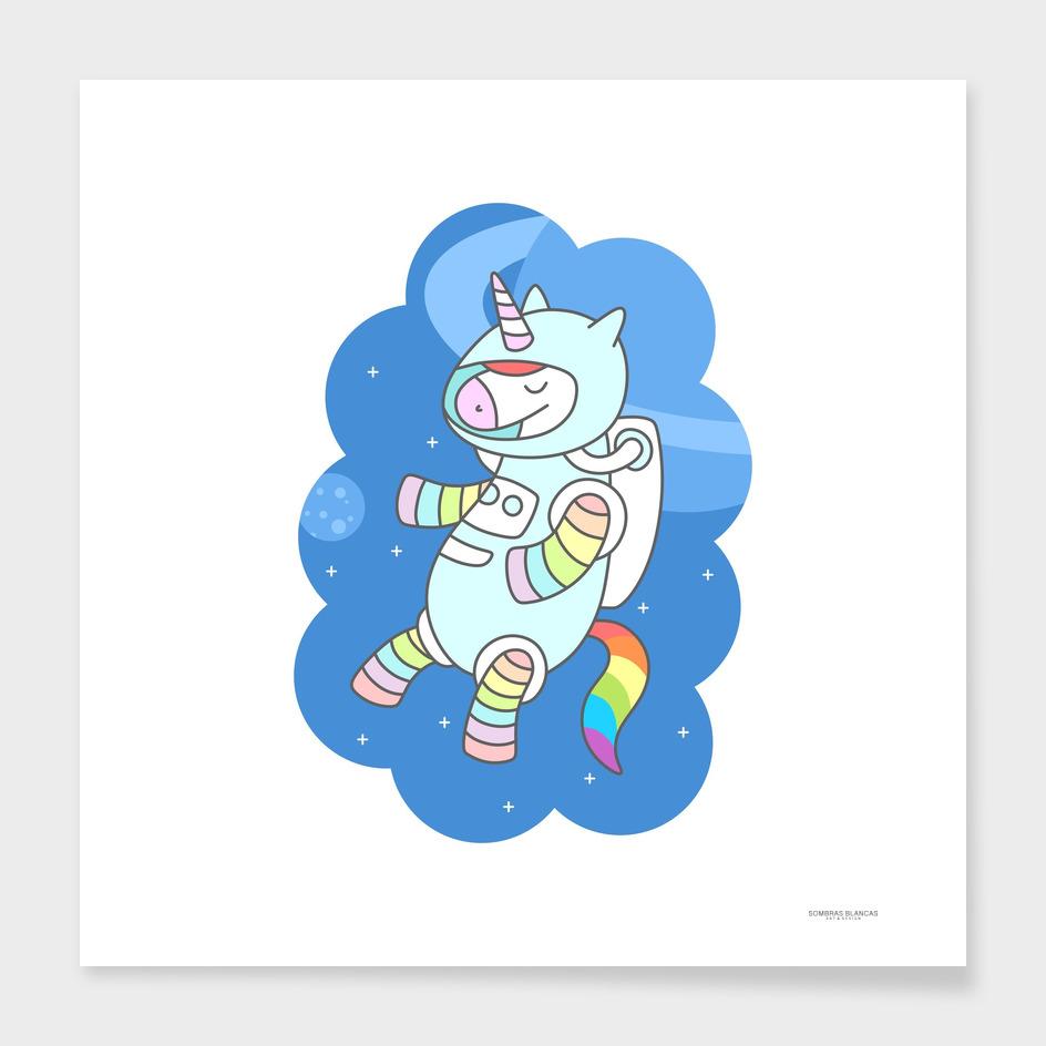 Unicorn Astronaut