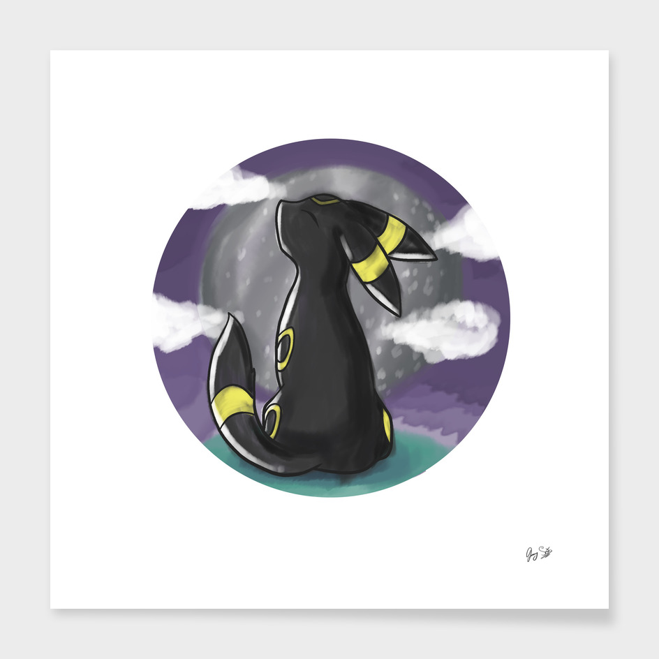 Umbreon of the moon