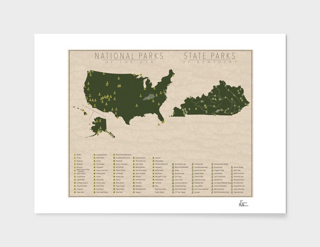US National Parks - Kentucky