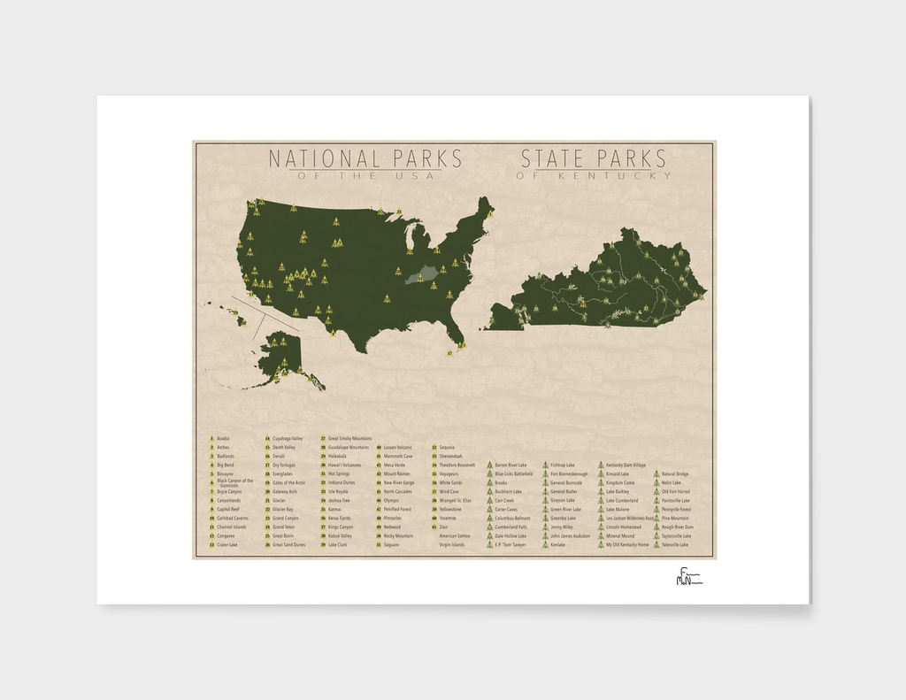 US National Parks - Kentucky