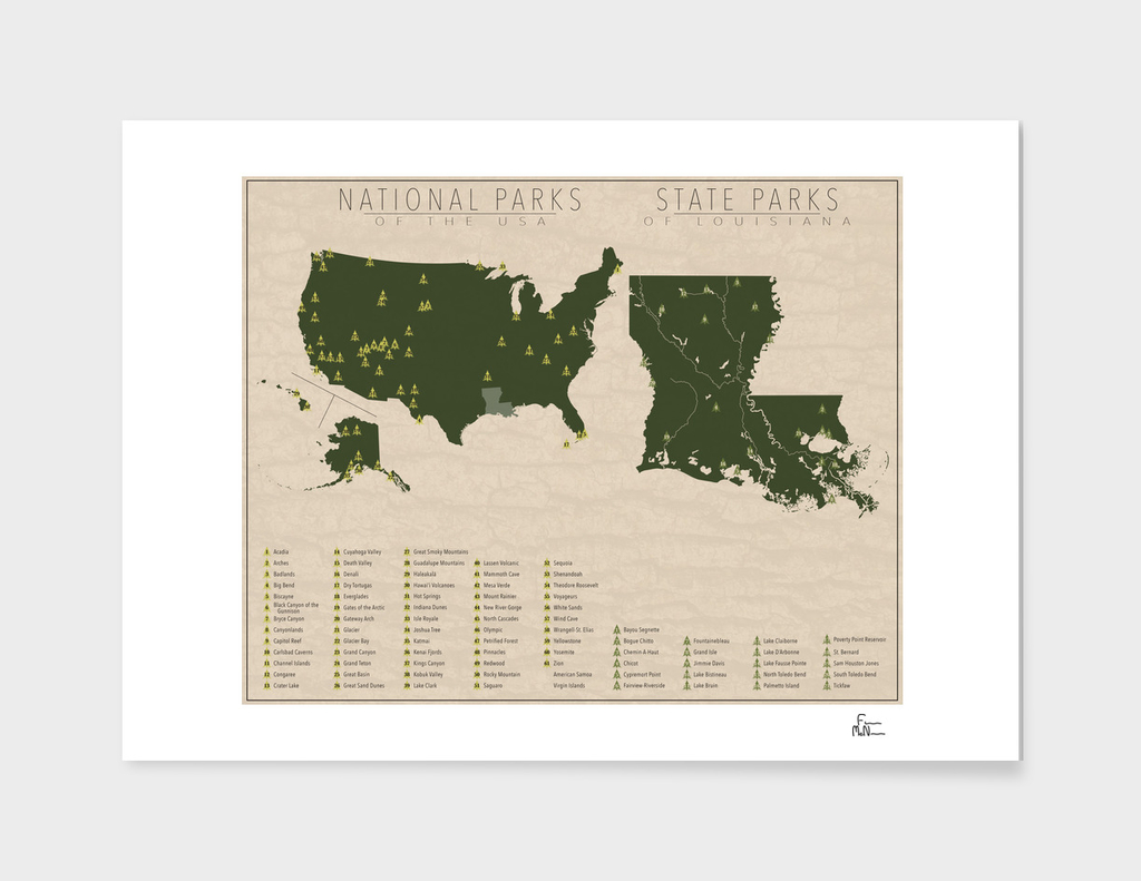 US National Parks - Louisiana