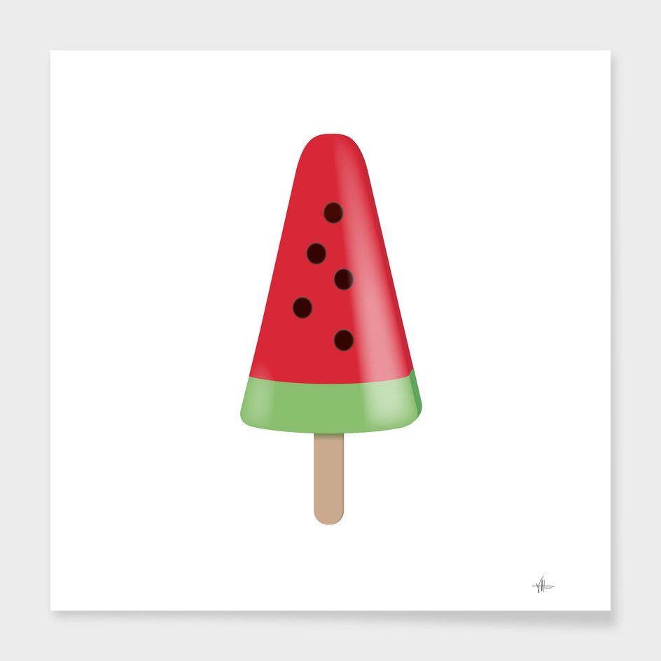 ICE CREAM - WATERMELON
