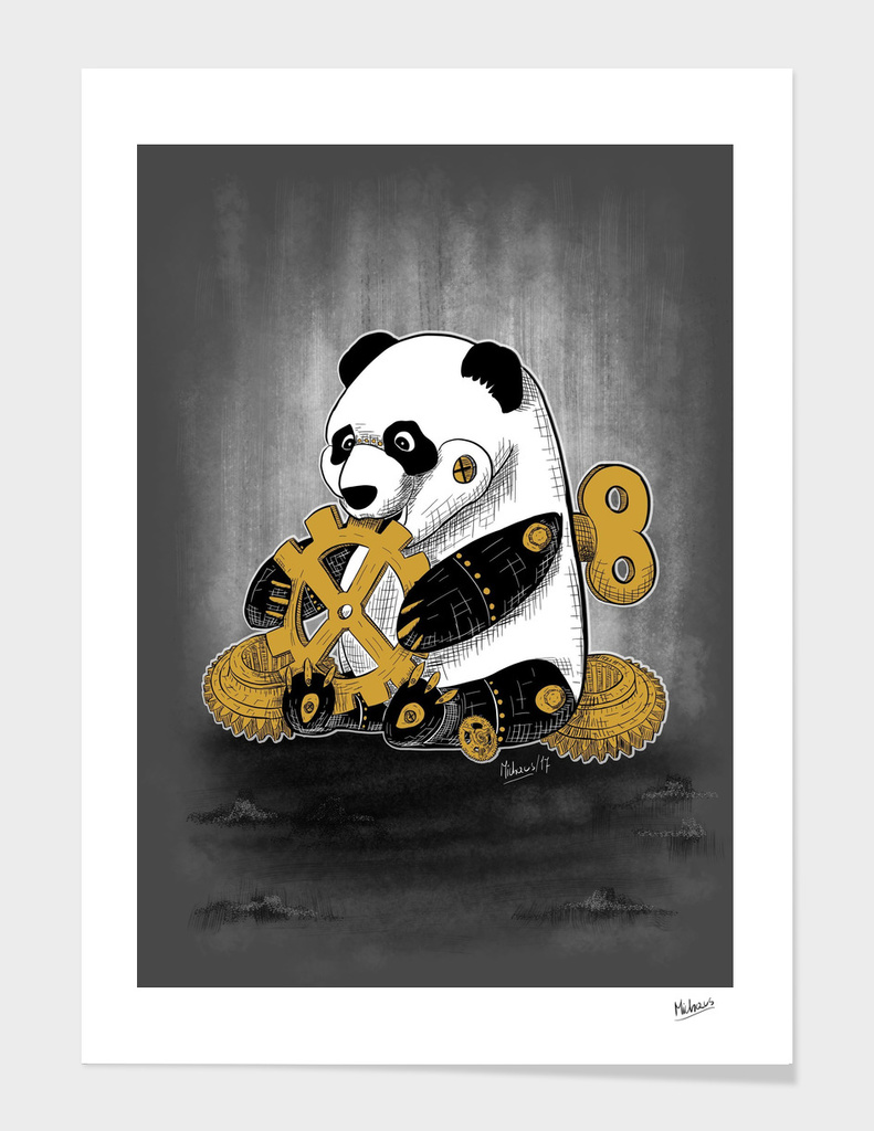 Little mechanical panda