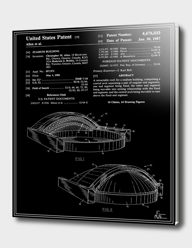 Stadium Patent - Black