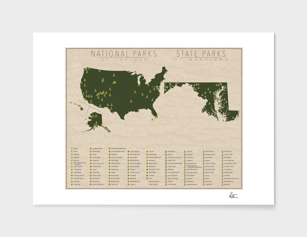 US National Parks - Maryland