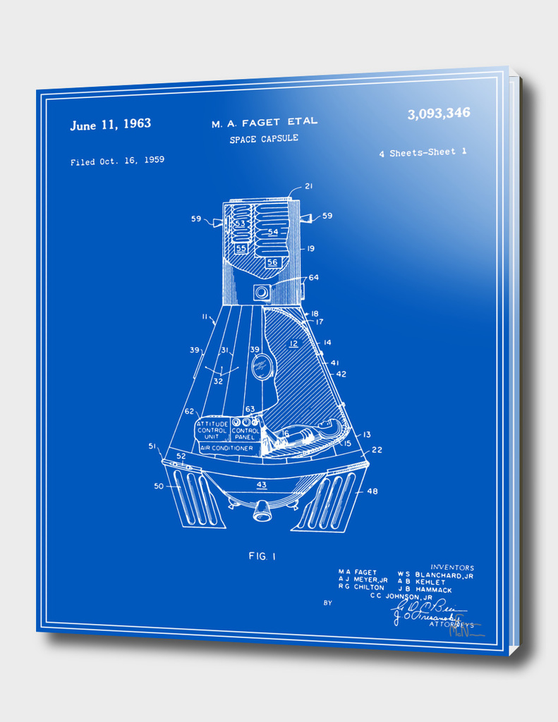 Space Capsule Patent v1 - Blueprint