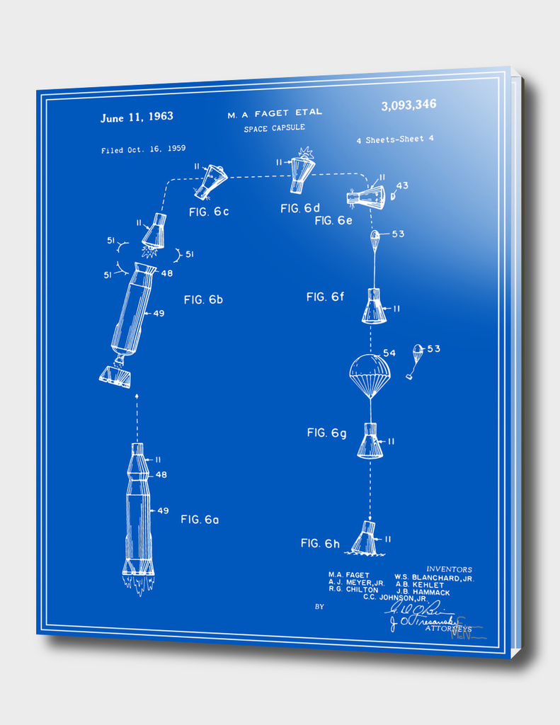 Space Capsule Patent v2 - Blueprint