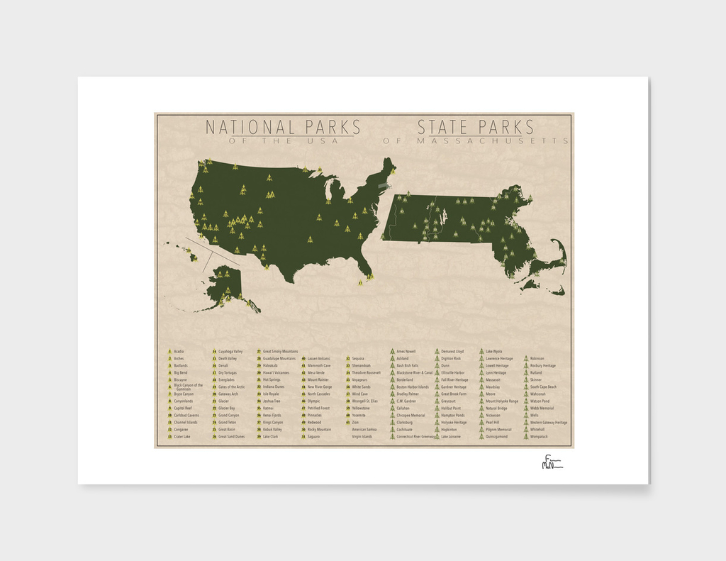 US National Parks - Massachusetts