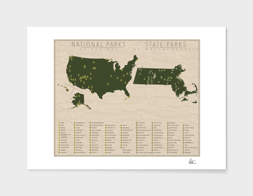US National Parks - Massachusetts