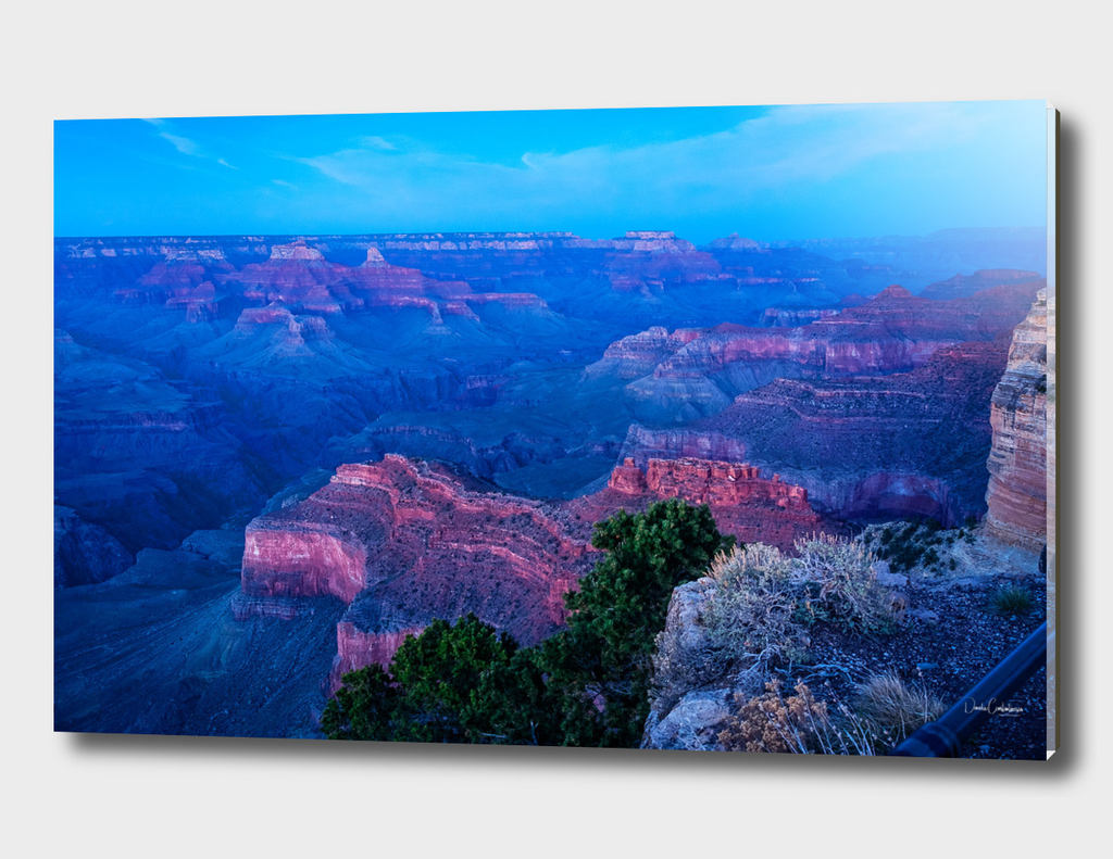 Blue hour at Mojave Point - Grand Canyon