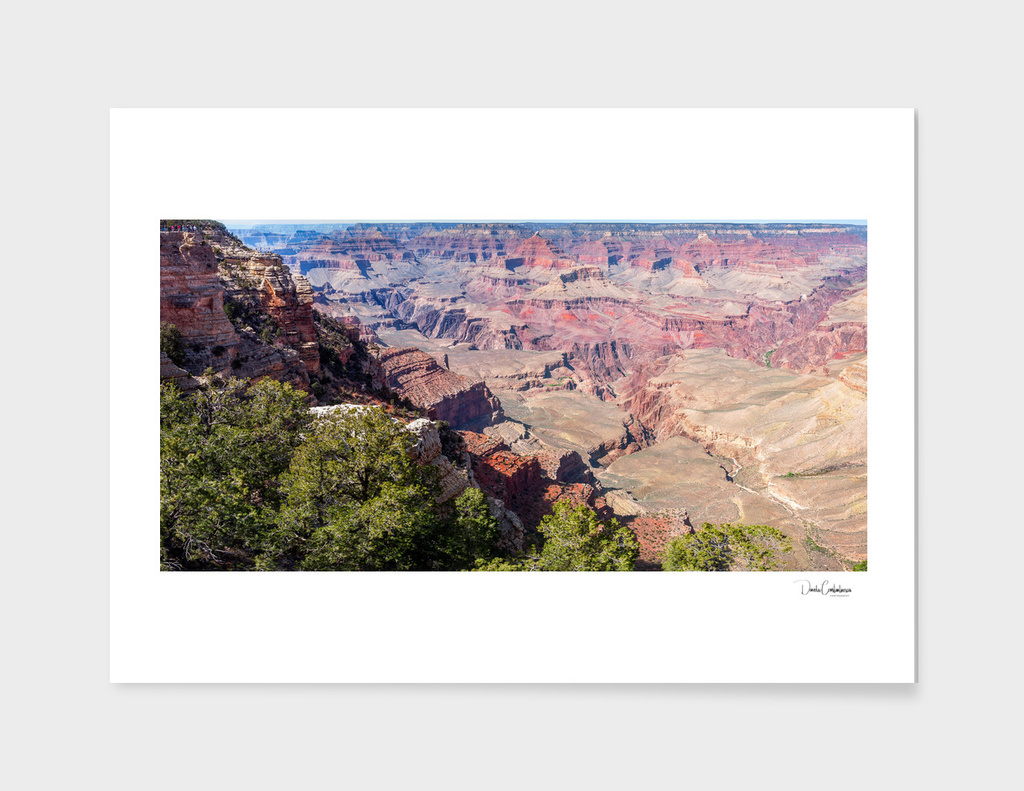 Panoramic views of Grand Canyon at Mather Point