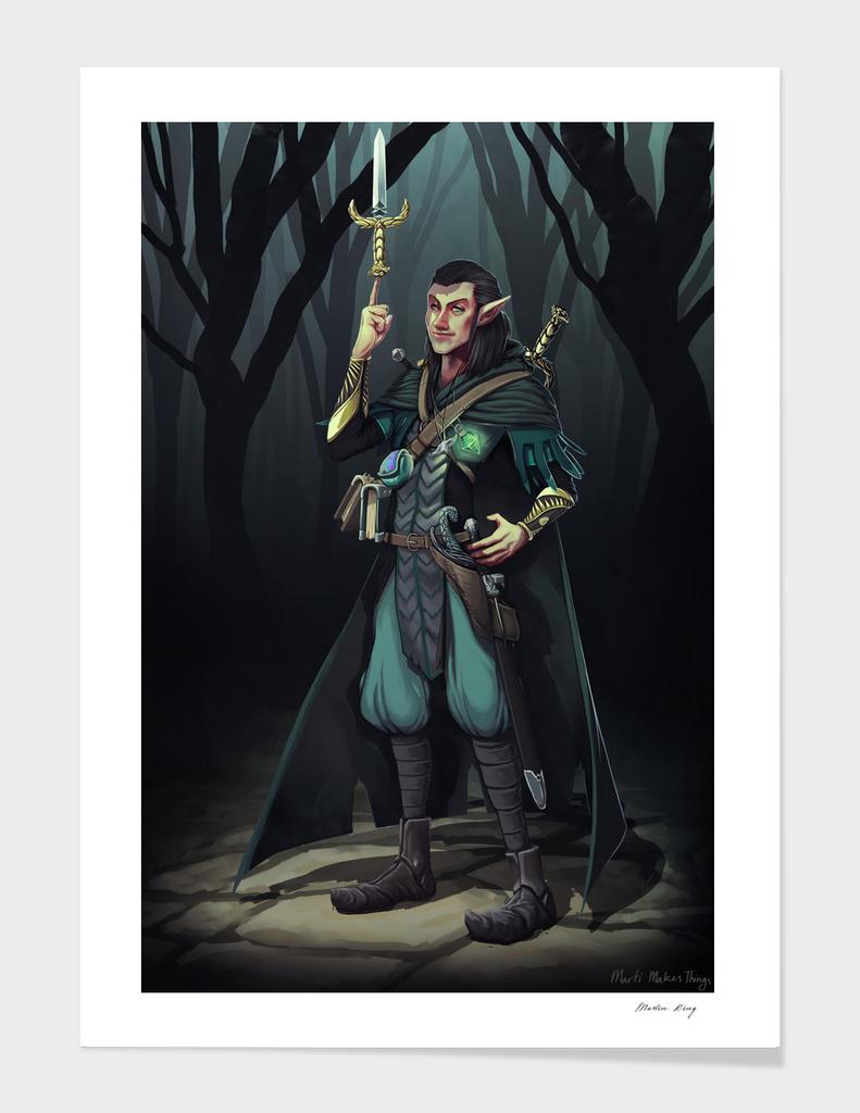 Elven Mage-Thief