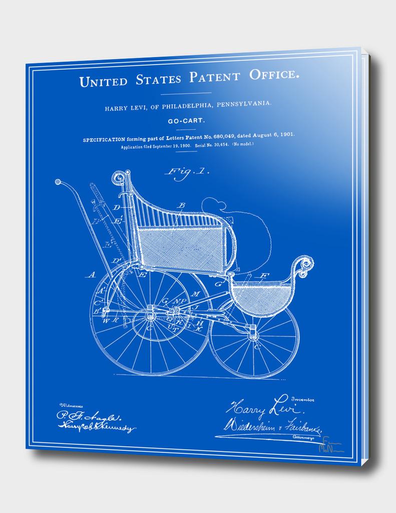 Stroller Patent - Blueprint