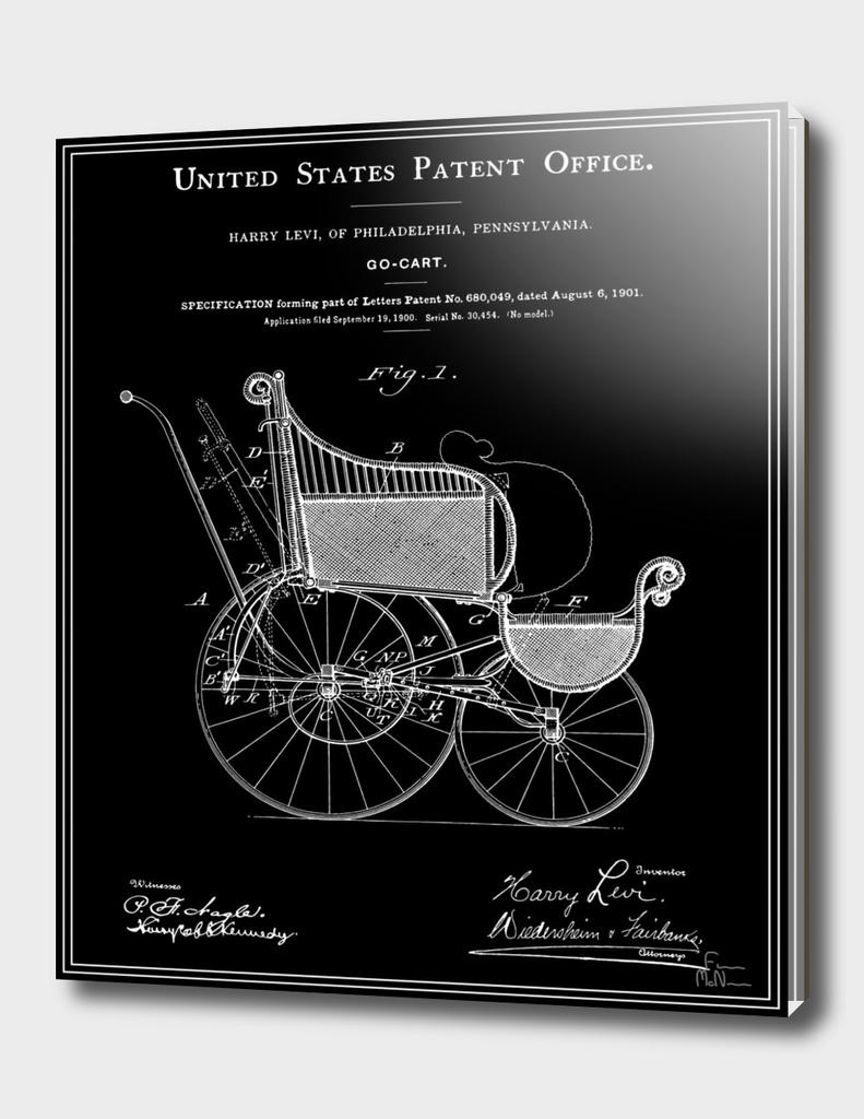 Stroller Patent - Black