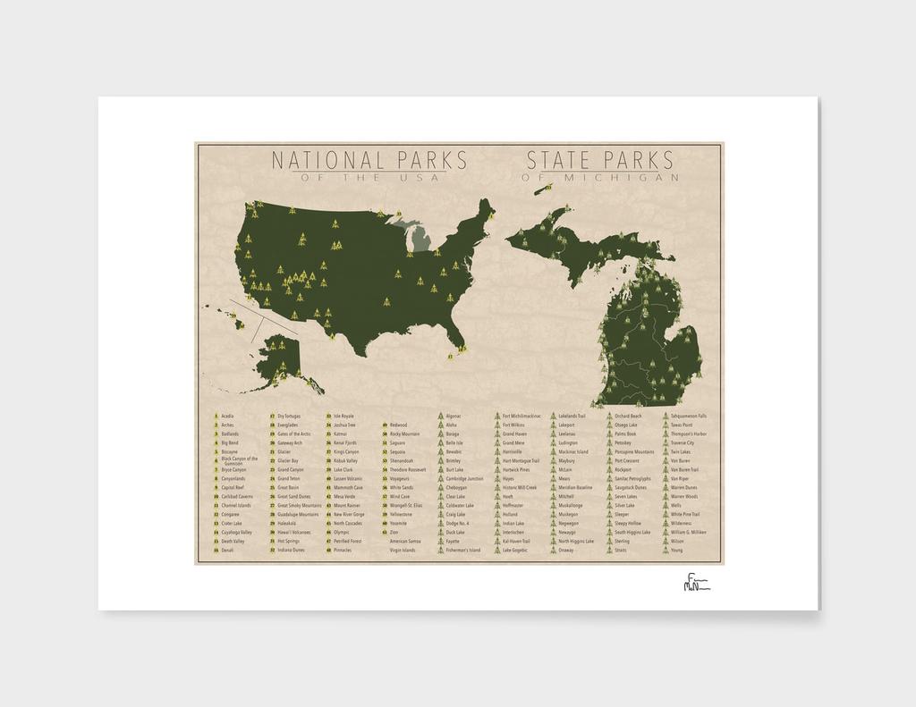 US National Parks - Michigan