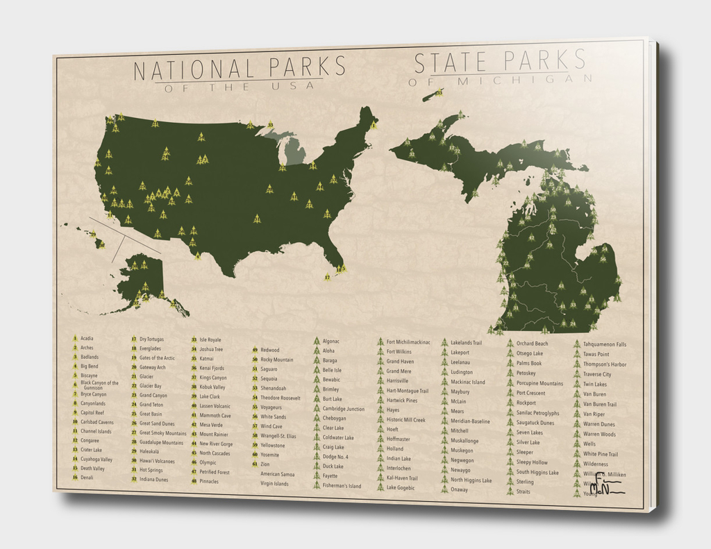 US National Parks - Michigan