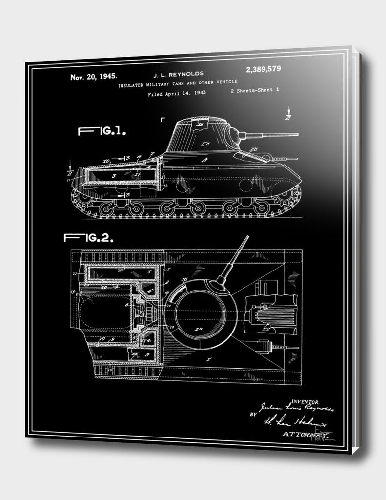 Tank Patent - Black