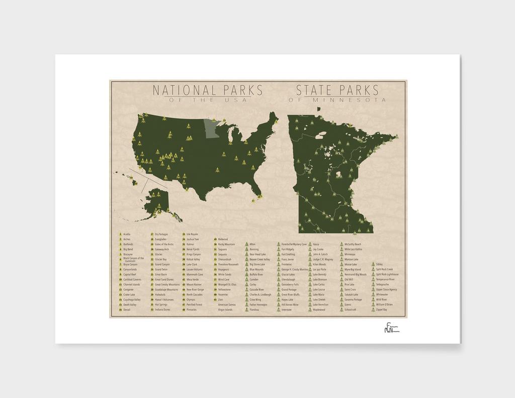 US National Parks - Minnesota