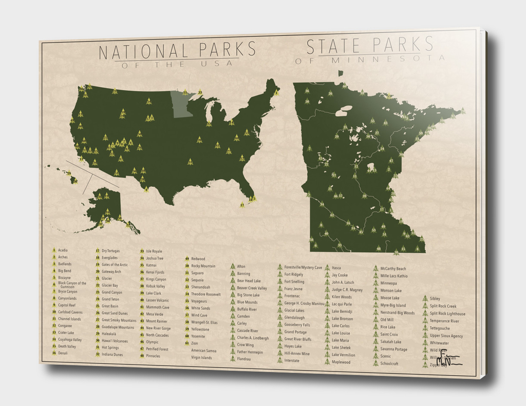 US National Parks - Minnesota