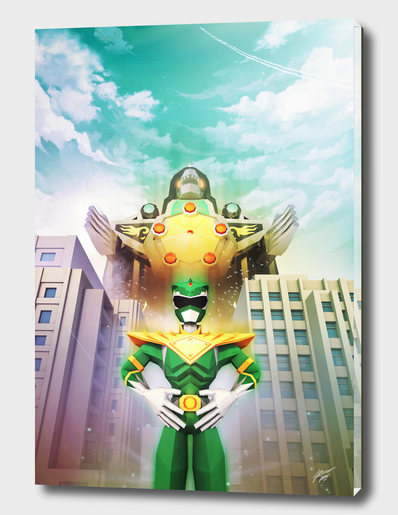 Green Ranger Dragonzord