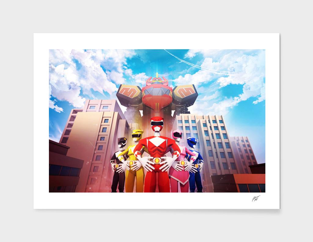 Power Rangers Megazord - Landscape