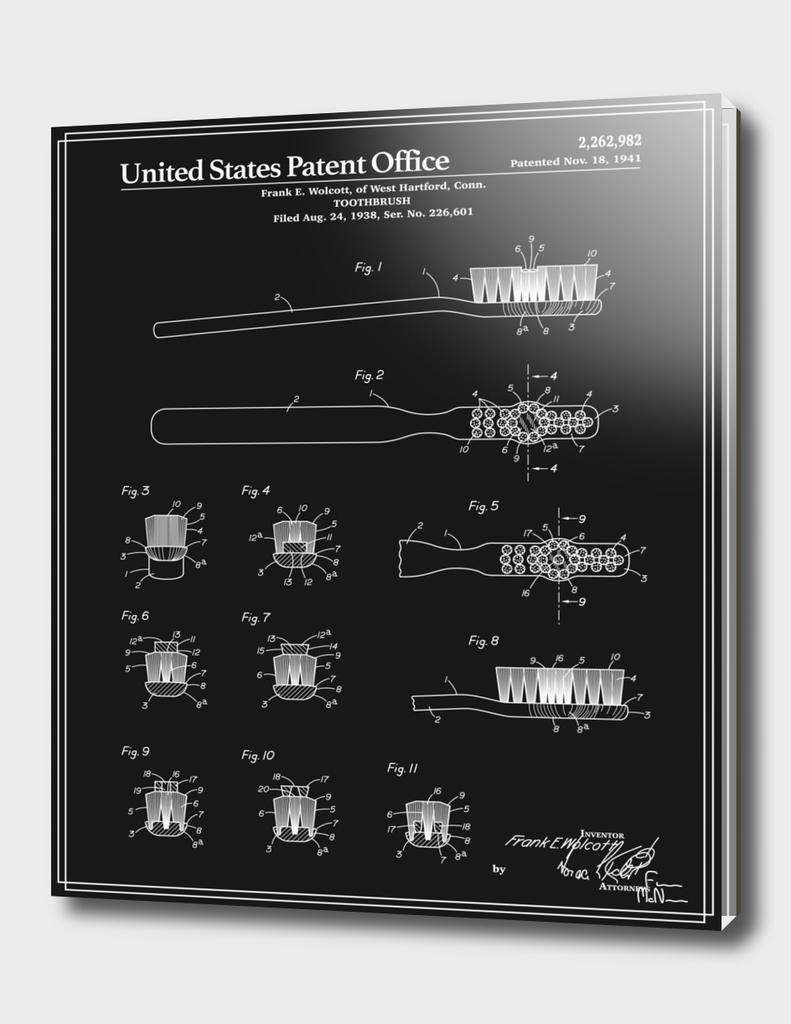 Toothbrush Patent - Black