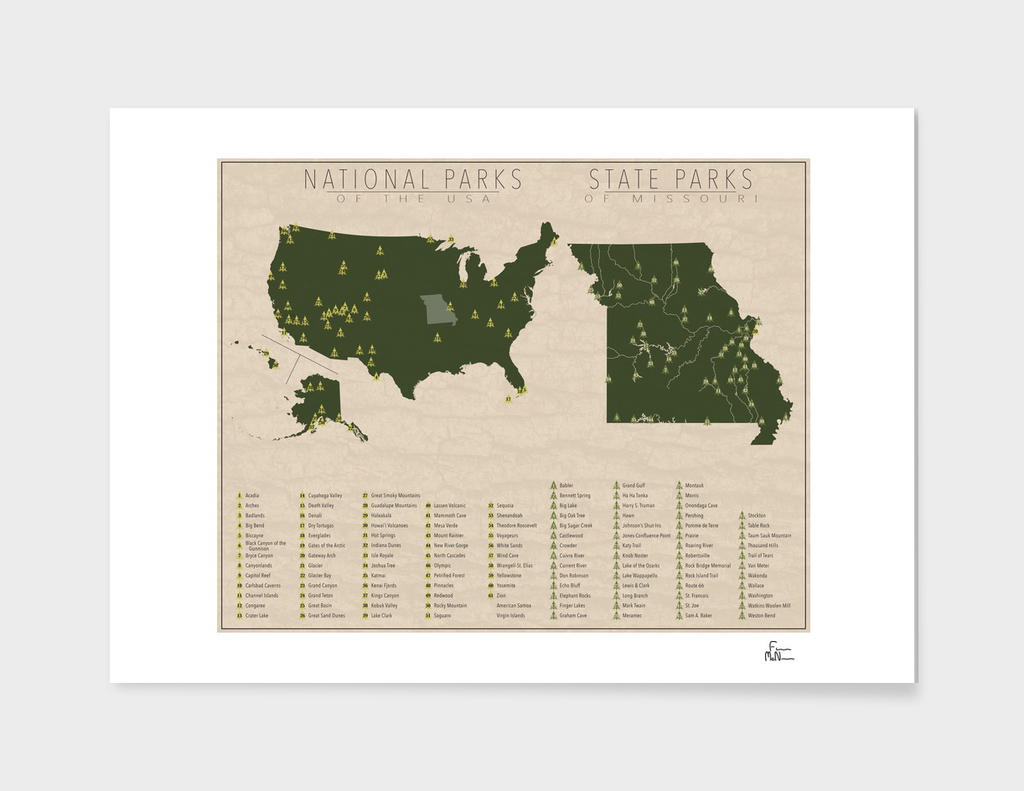 US National Parks - Missouri
