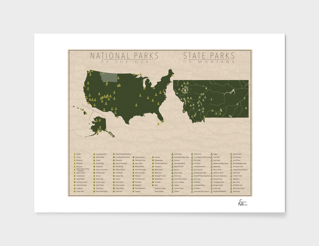 US National Parks - Montana