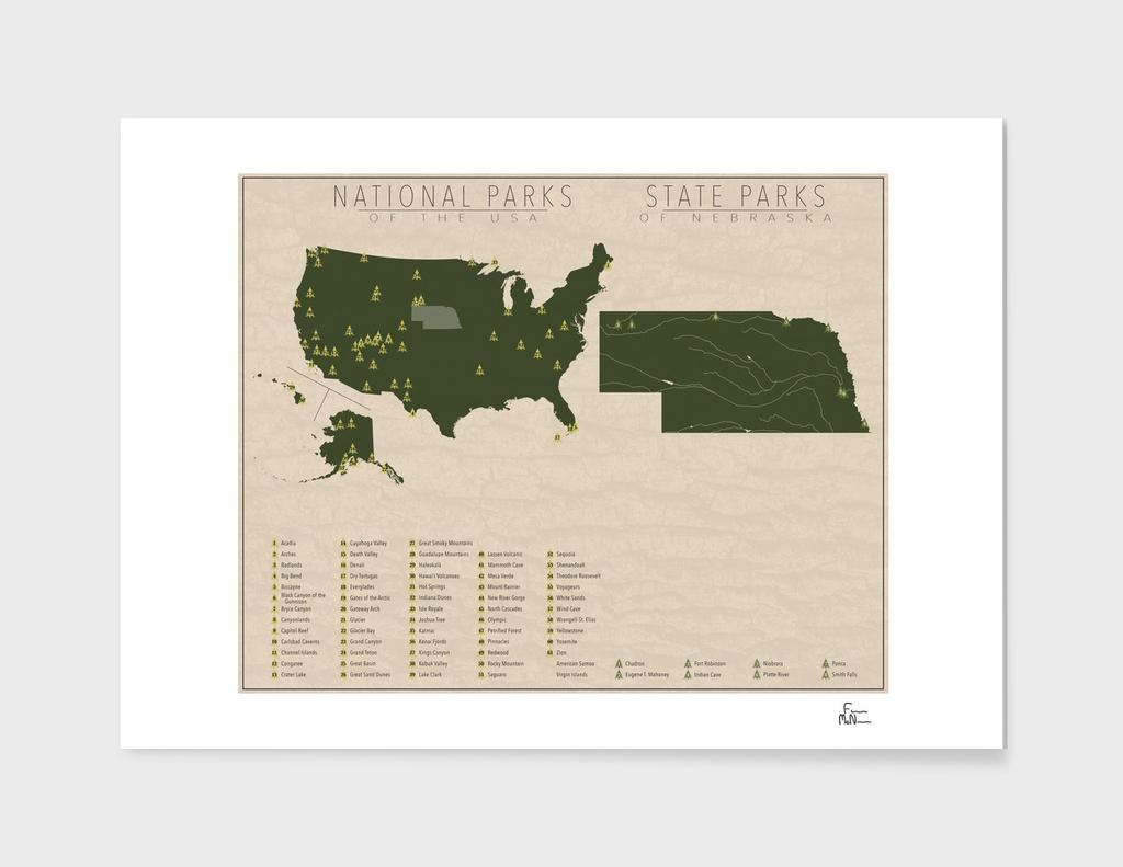 US National Parks - Nebraska