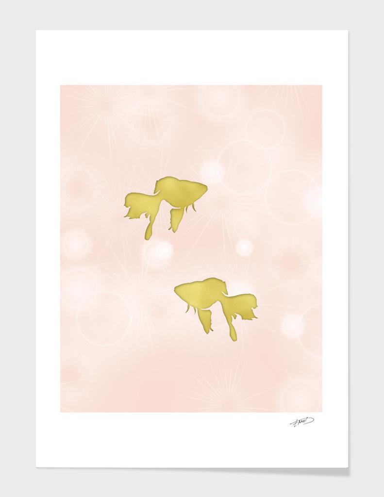 Goldfish silhouettes