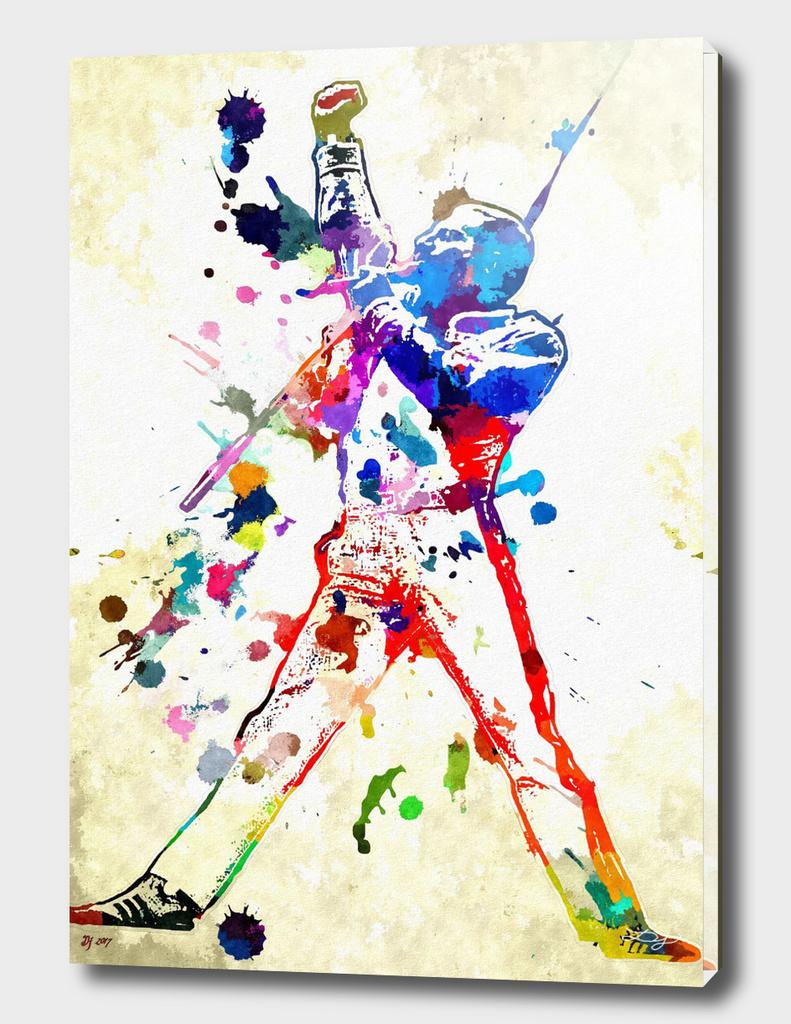Freddie Mercury Grunge