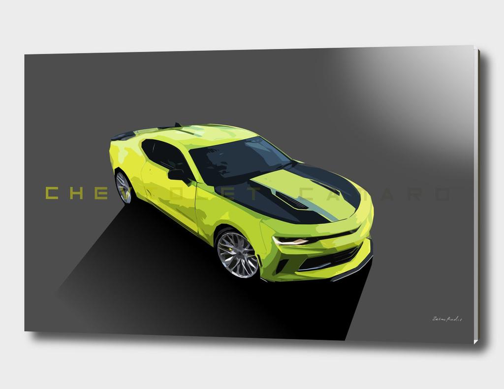 Chevrolet Camaro Yellow