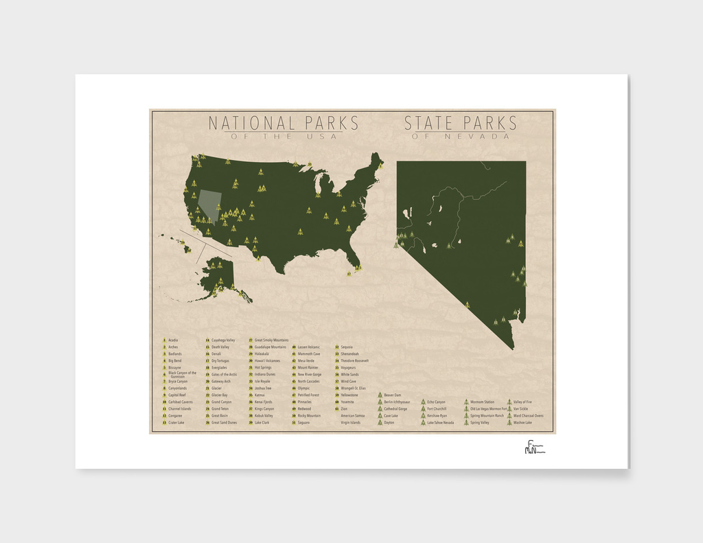 US National Parks - Nevada