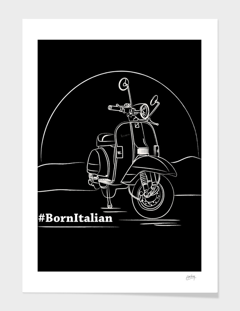 The Italian Beauty - Vespa