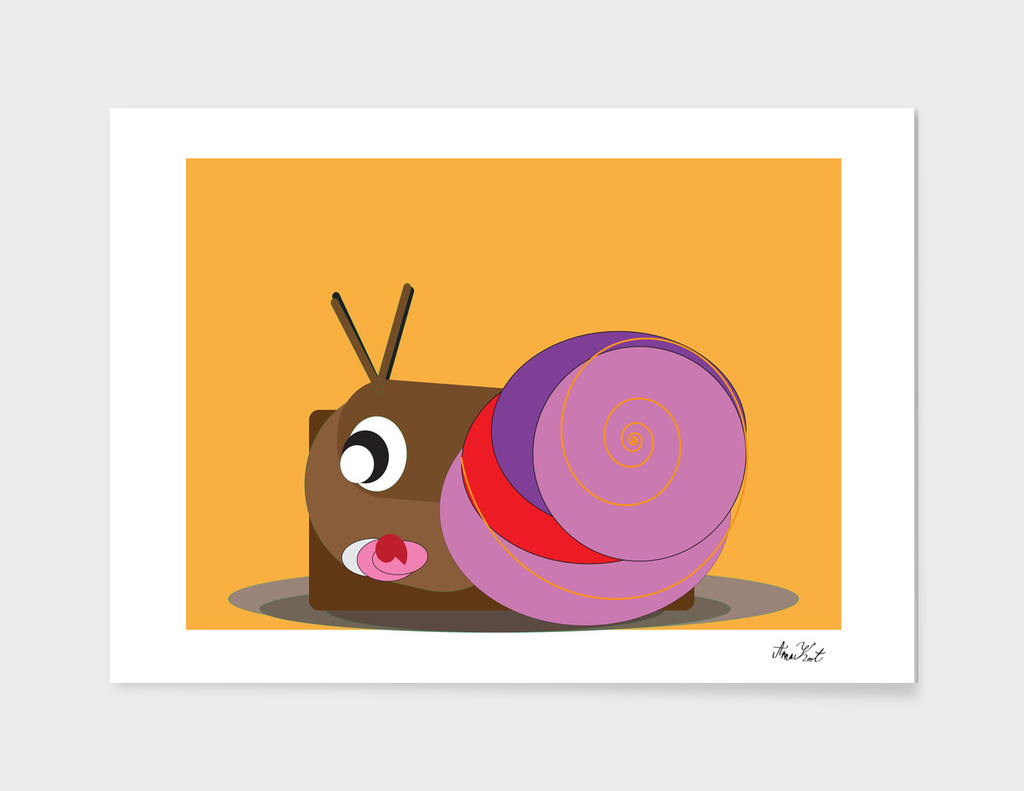 Sweetheart Snail